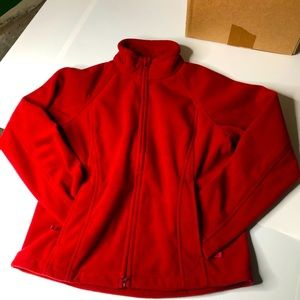 Duluth Trading Co Mens Small Red Fleece Jacket